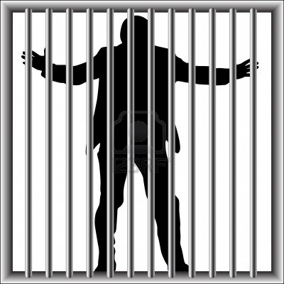 Man In Jail Clipart 104